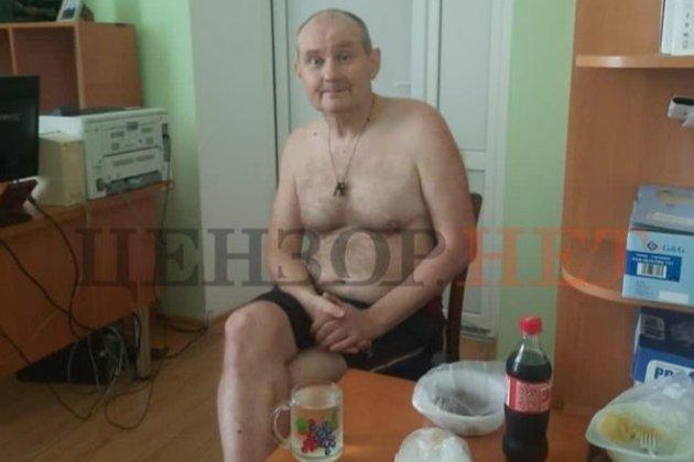 Колишній суддя Чаус знайшовся в селі на Вінниччині. Його сфотографували топлес у сільській раді