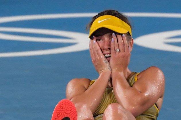 Теннисистка Элина Свитолина завоевала для Украины бронзовую медаль на Олимпиаде