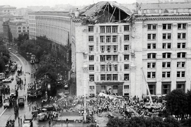 Фотоісторія. 32 роки тому сталася трагедія на Київському головпоштамті. Тоді загинуло 11 людей