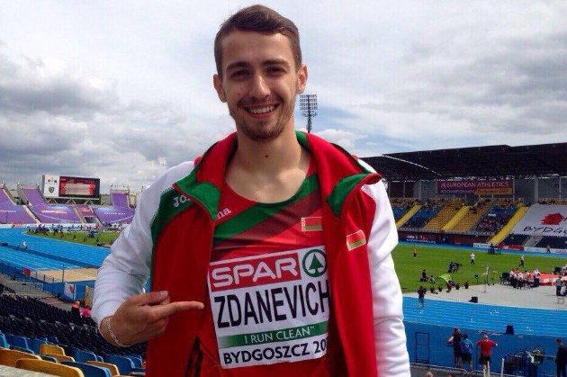 Чоловік опальної білоруської олімпійки втік з Мінська до Києва