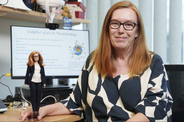 Винахідниця британської вакцини проти коронавірусу стала лялькою Барбі