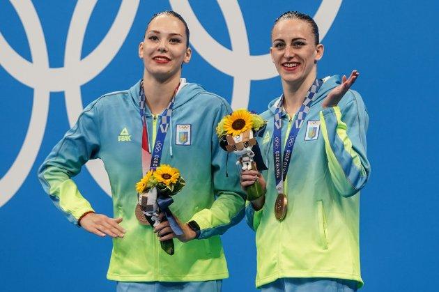 Організатори Олімпіади вибачились перед українськими синхроністками, яких на нагородженні назвали росіянками