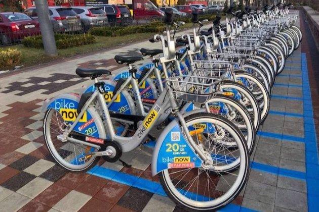 Через крадіжки велосипедів сервіс BikeNow заборонив паркувати їх на столичній Троєщині