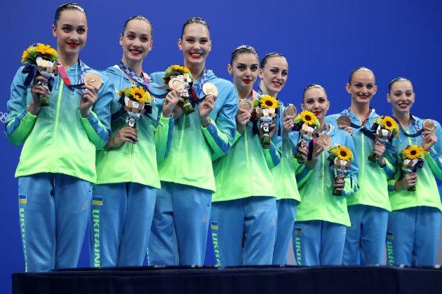 Українські синхроністки принесли Україні другу «бронзу» в артистичному плаванні на Олімпіаді