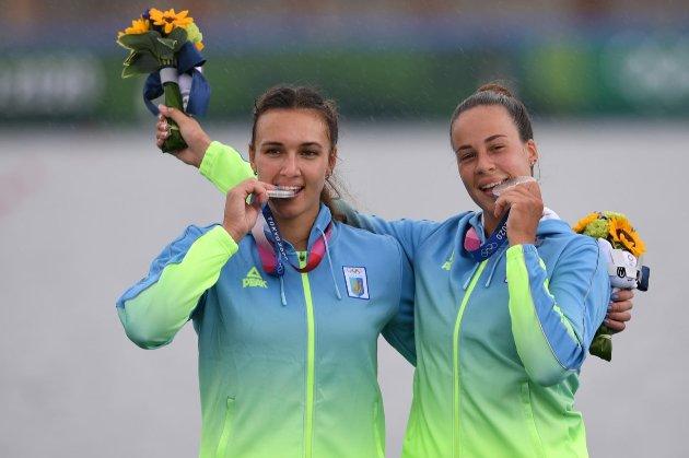 Українські веслувальниці здобули «срібло» в каное-двійці на Олімпіаді в Токіо
