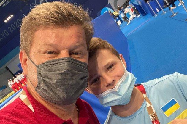 15-річний український олімпієць сфотографувався з російським коментатором з «чорного списку» Мінкульта
