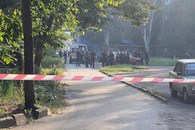 У Кривому Розі поліція відкрила провадженя на чоловіка, який підірвав себе гранатами