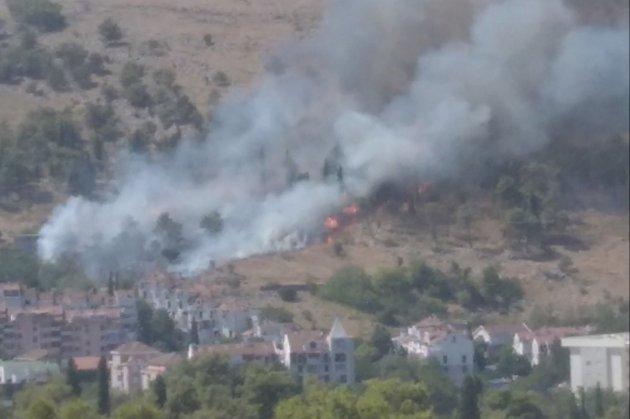 У Чорногорії через підпал сталася масштабна лісова пожежа