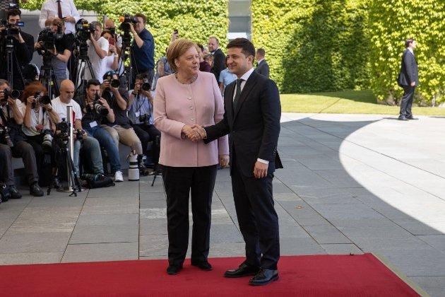 Канцлер Німеччини Ангела Меркель у кінці серпня приїде до Києва