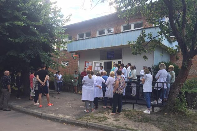 Вимагають повернути 3 млн зарплатного боргу. На Львівщині лікарі оголосили голодування на роботі