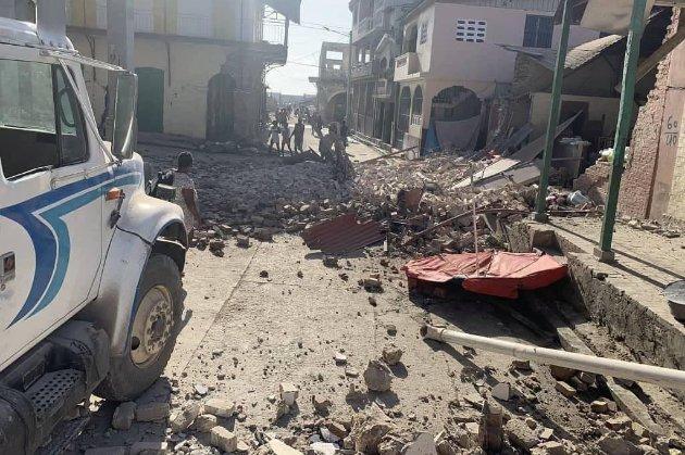 На Гаити произошло мощное землетрясение. Власти сообщают о погибших и раненых