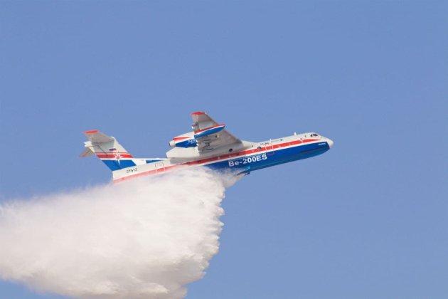 У Туреччині розбився пожежний літак, орендований у Росії. Всі люди на борту загинули