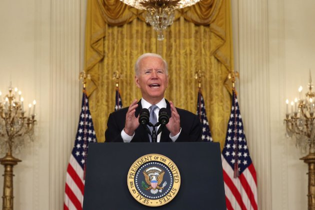 Джо Байден заявив, що не шкодує про виведення американських військ з Афганістану