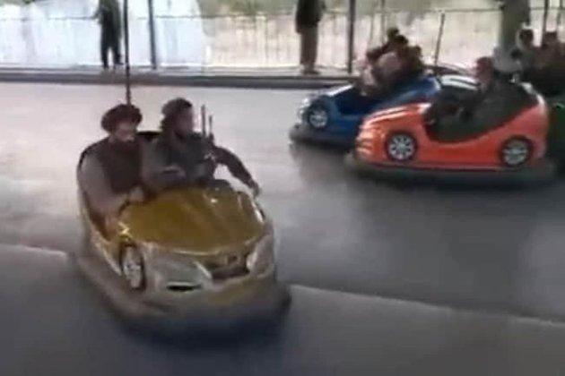 Таліби покаталися на атракціонах у парку розваг захопленого Кабула (відео)