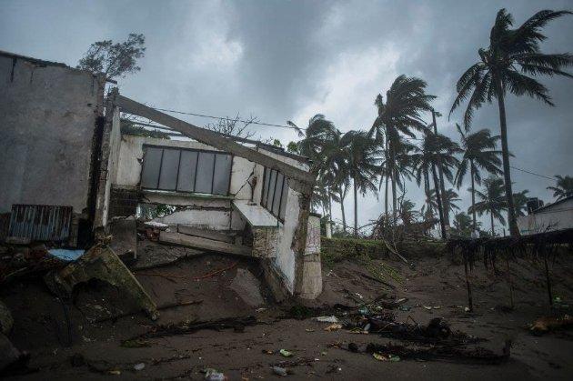 На Мексику обрушился ураган «Грейс». По меньшей мере восемь человек погибли, еще трое пропали без вести