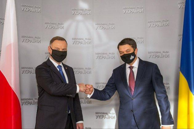 Президент Польщі Анджей Дуда приїде сьогодні на три дні до Києва