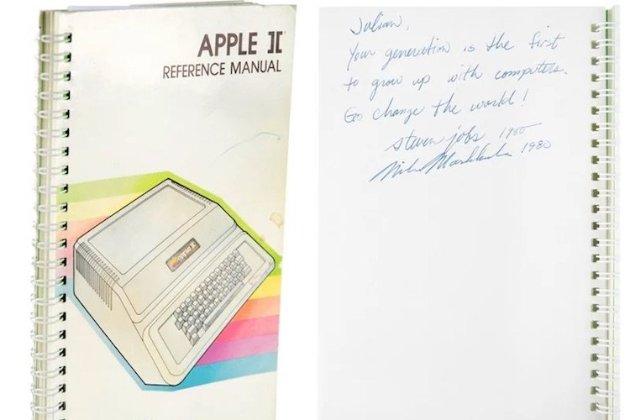 Инструкцию к компьютеру Apple II продали почти за $800 тыс.