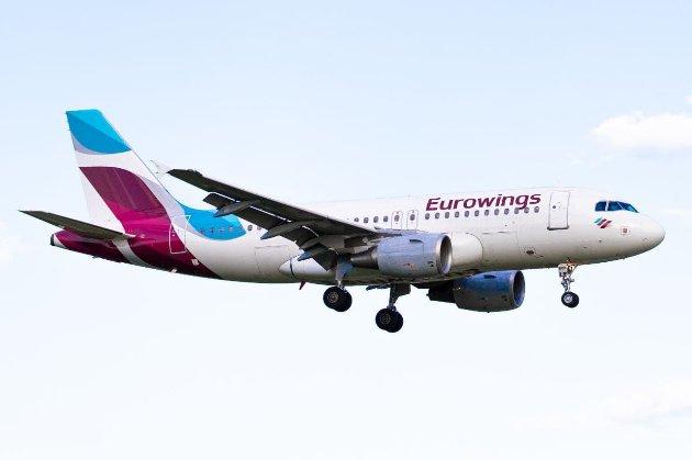 Із 1 вересня німецький лоукостер Eurowings розпочне польоти в Україну