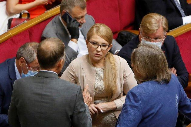 Хвора на коронавірус Юлія Тимошенко повідомила, що подолала кризовий стан