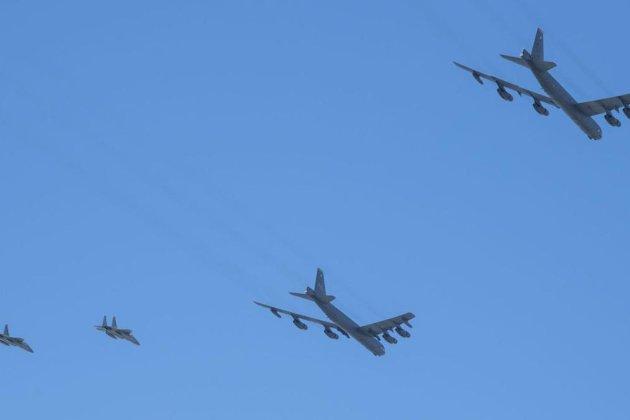 Спільні зусилля. Українські винищувачі супроводжували ракетоносці ВПС США