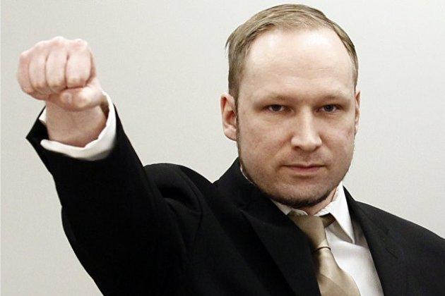 Терорист Брейвік просить про умовно-дострокове звільнення
