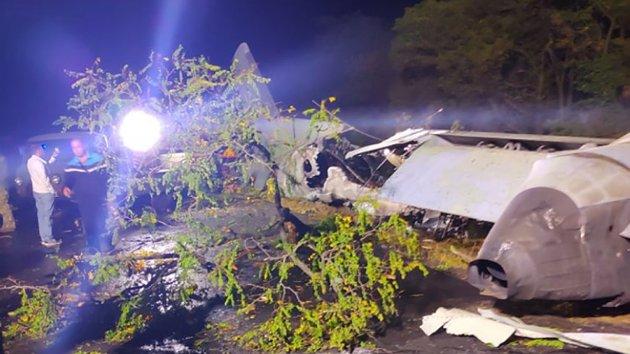 ДБР розглядає чотири версії причин авіакатастрофи під Харковом