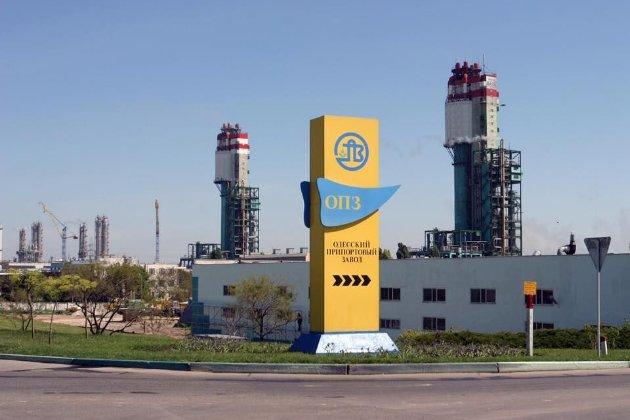 Через високі ціни на газ зупинився Одеський припортовий завод