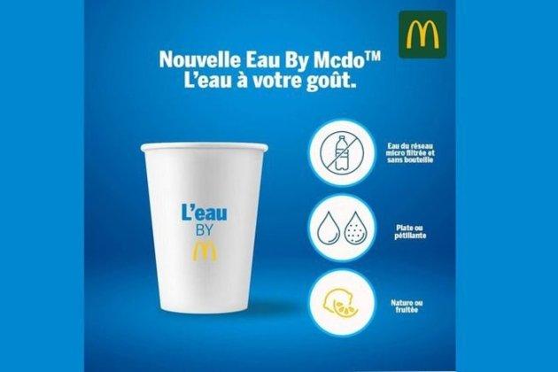 McDonald's у Франції першим у світі почав продавати воду з-під крана у стаканчиках