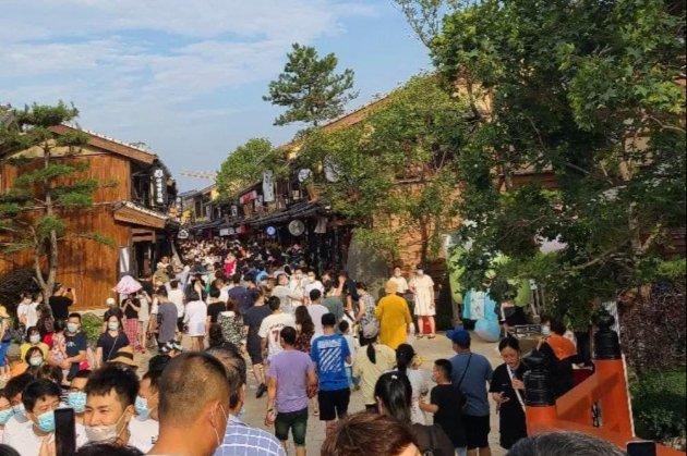 Китайскую улицу в японском стиле закрыли после обвинения в «культурном вторжении»
