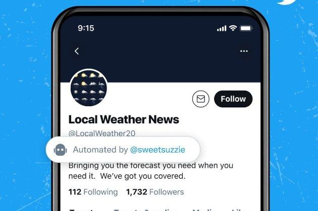 У Twitter почали тестувати функцію спеціального позначення бот-акаунтів