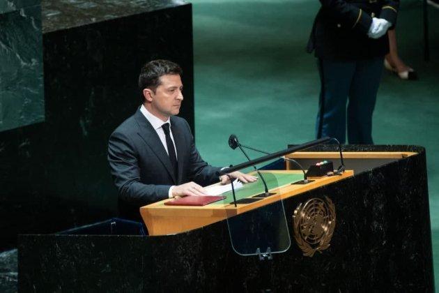 Зеленский выступил на Генассамблее ООН. Говорил про вакцины, Крым и Донбасс