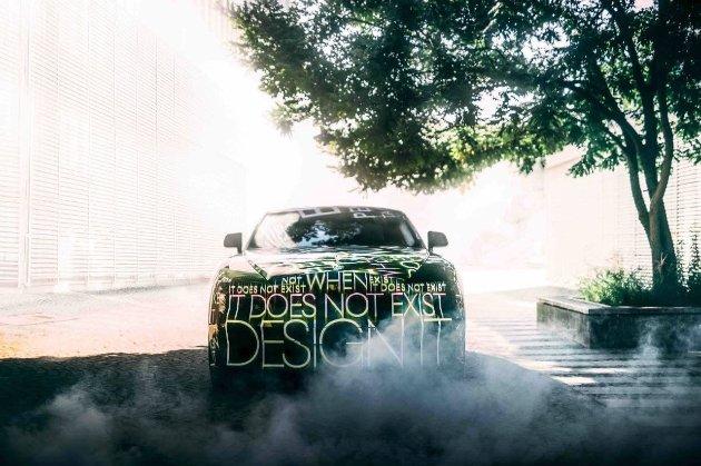 Компанія Rolls-Royce показала свій перший електричний автомобіль