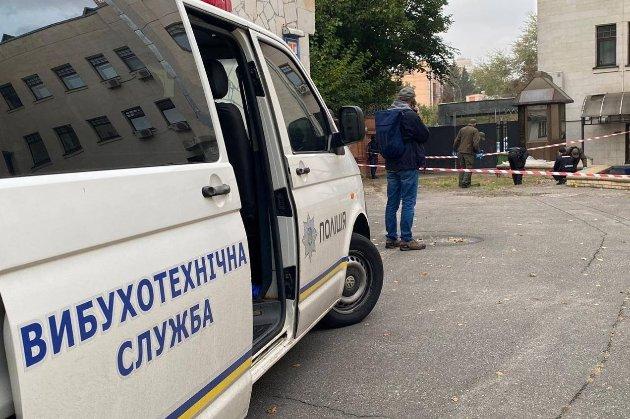 У дворі Вищого антикорупційного суду стався вибух