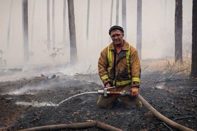 ДСНС ліквідувала пожежі на Луганщині, які вирували з 30 вересня