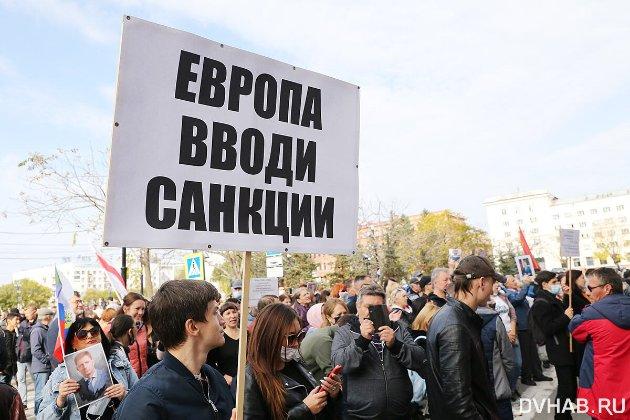 Силовики жорстко розігнали та побили мітингувальників у Хабаровську