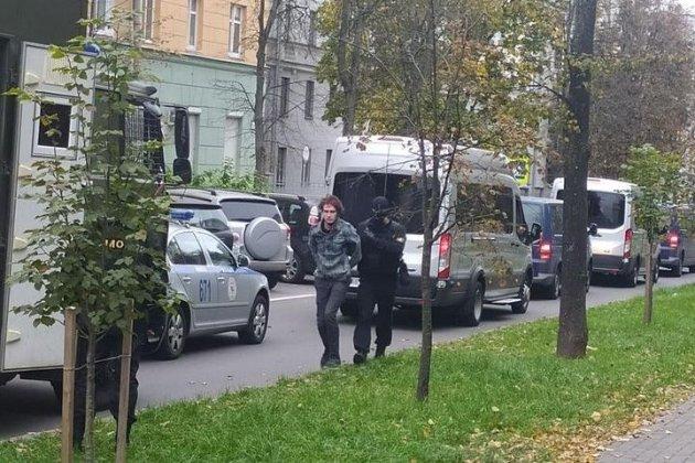 У Мінську ОМОН затримав студентів, які вийшли на протест