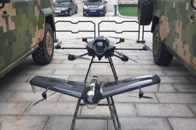 Китай випробував систему масового запуску дронів-камікадзе