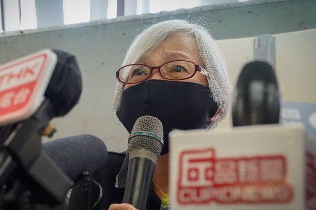 Гонконгська активістка Олександра Вонг повернулася з 14-місячного утримання під вартою