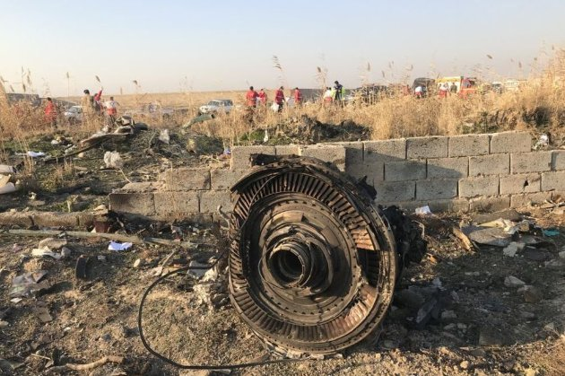 Переговори між Украною та Іраном щодо збиття літака МАУ над Тегераном відбудуться в неділю