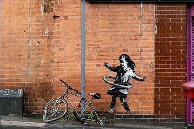 Бенксі підтвердив авторство нового графіті у Великобританії