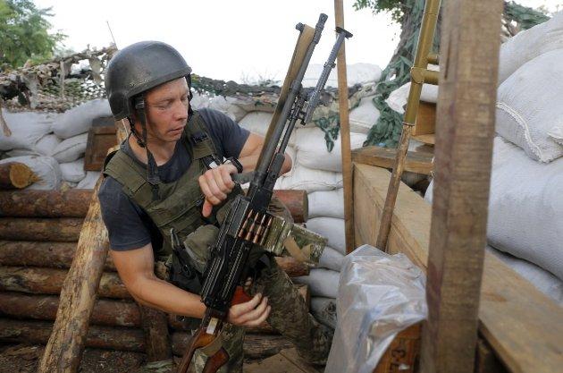 Українські військові вперше стріляли у відповідь з початку перемир'я