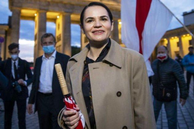 Європарламент присудив премію Сахарова Світлані Тихановській та ще дев'ятьом білоруським опозиціонерам