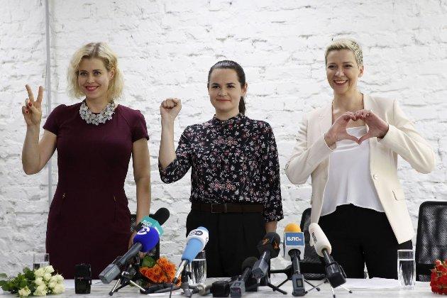 Тихановська подякувала українцям за солідарність із білорусами