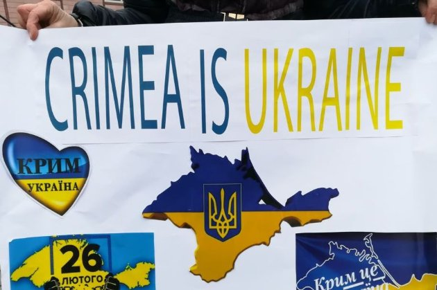 Кількість порушень повітряного простору України над Кримом з початку окупації — 225 тис. випадків