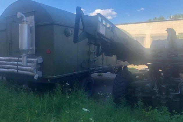 В Україну незаконно ввезли три радянські зенітно-ракетні комплекси для перепродажу