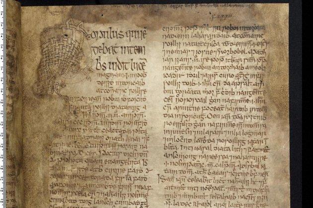 Середньовічний рукопис, одна з «великих книг Ірландії», повертається додому після 400 років в руках британців