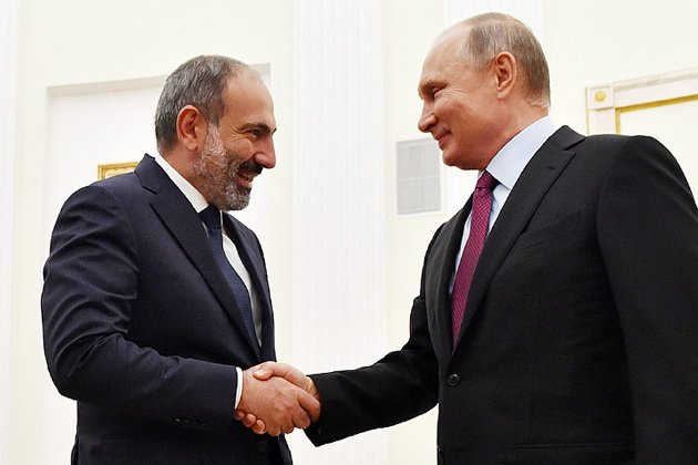 Вірменія просить Путіна допомогти забезпечити безпеку у країні