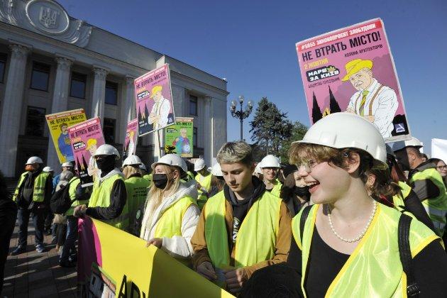 Учасники акції «Марш за Київ» висунули вимоги до центральної влади щодо розвитку міста