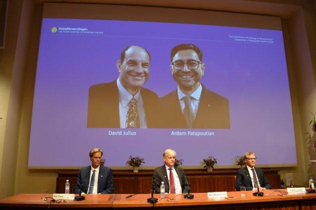 Нобелівську премію з медицини вручили за відкриття рецепторів, які відповідають за температуру і дотики