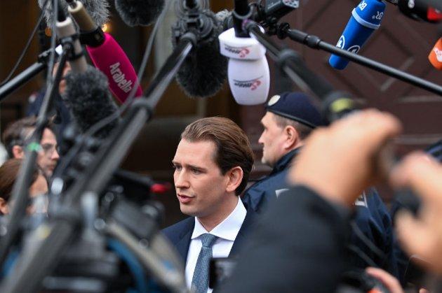Канцлер Австрії Себастіан Курц йде у відставку через звинувачення у корупції
